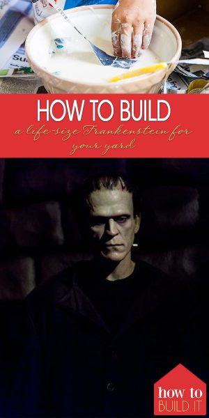 Frankenstein   Life-Size Frankenstein Decoration   How to Make a Life-Size Frankenstein Statue   Halloween   Halloween Decorations