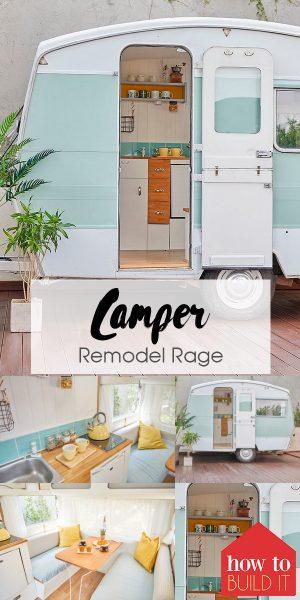 Camper Remodel | Camper Remodel Tutorials | How to Remodel a Camper | Camper Remodel Tips and Tricks | Camper Remodel Tutorial