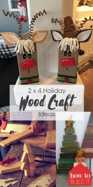 2 x 4 Holiday Wood Crafts | Holiday Wood Craft Ideas | 2 x 4 Wood Craft Ideas | Holiday Craft Ideas | DIY Holiday Craft Ideas | Wood Crafts | Wood Craft Ideas