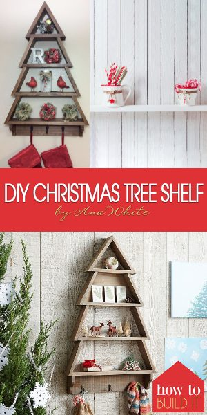 Christmas Tree Shelf | DIY Christmas Tree Shelf | How to Make a DIY Christmas Tree Shelf | How to Make A Christmas Tree Shelf | Make a Christmas Tree Shelf | DIY Shelf | DIY Christmas Tree Shelf
