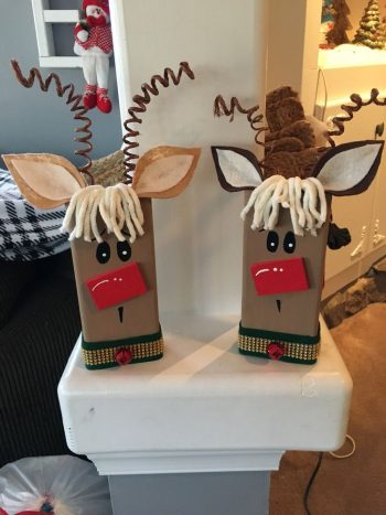 2 x 4 Holiday Wood Crafts | Holiday Wood Craft Ideas | 2 x 4 Wood Craft Ideas | Holiday Craft Ideas | DIY Holiday Craft Ideas | Wood Crafts | Wood Craft Ideas