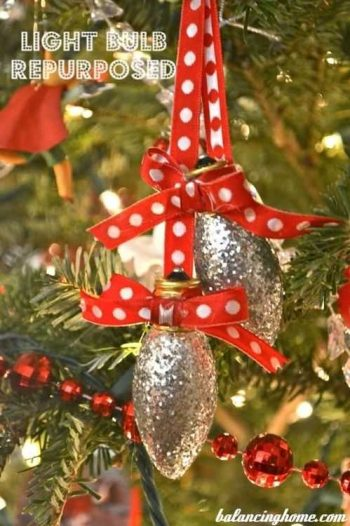 Upcycled Christmas Ornaments   Upcycled Ornaments   Christmas Ornament Ideas   Upcycled Ornament Ideas   Upcycled Christmas Decorations   Christmas Decoration Ideas