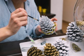 Upcycled Christmas Ornaments | Upcycled Ornaments | Christmas Ornament Ideas | Upcycled Ornament Ideas | Upcycled Christmas Decorations | Christmas Decoration Ideas