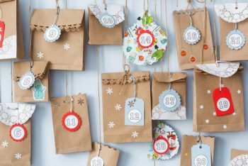Advent Calendar | Advent Calendar Tutorial | DIY Advent Calendar | DIY Advent Calendar Ideas | Learn How to Make Your Own Advent Calendar | Advent Calendar Tutorial Ideas