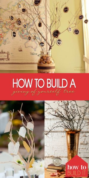 Giving of Yourself Tree | Giving Tree | Giving Tree Ideas | Christmas Giving Tree Ideas | Christmas Giving | The Giving Spirit