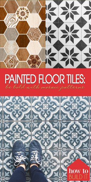 Painted Mosaic Floor Tiles | Painted Mosaic Tiles | Mosaic | Mosaic Floor | Mosaic Floor Ideas | Painted Mosaic Floor Ideas | Painted Mosaic Floor Design