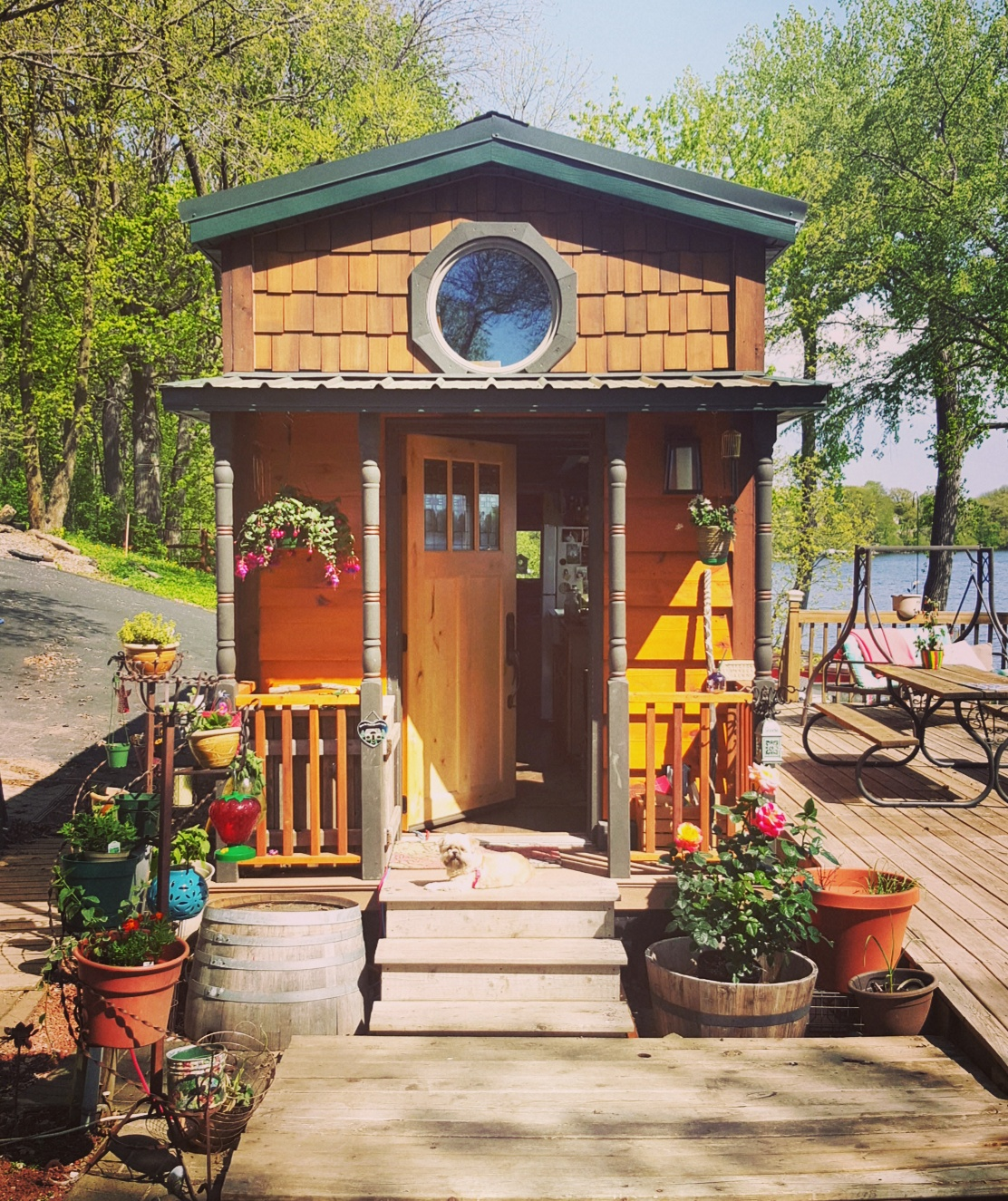 tiny cabins | outdoor | outdoor living | cabin living | tiny cabin living | cabin | tiny cabin ideas