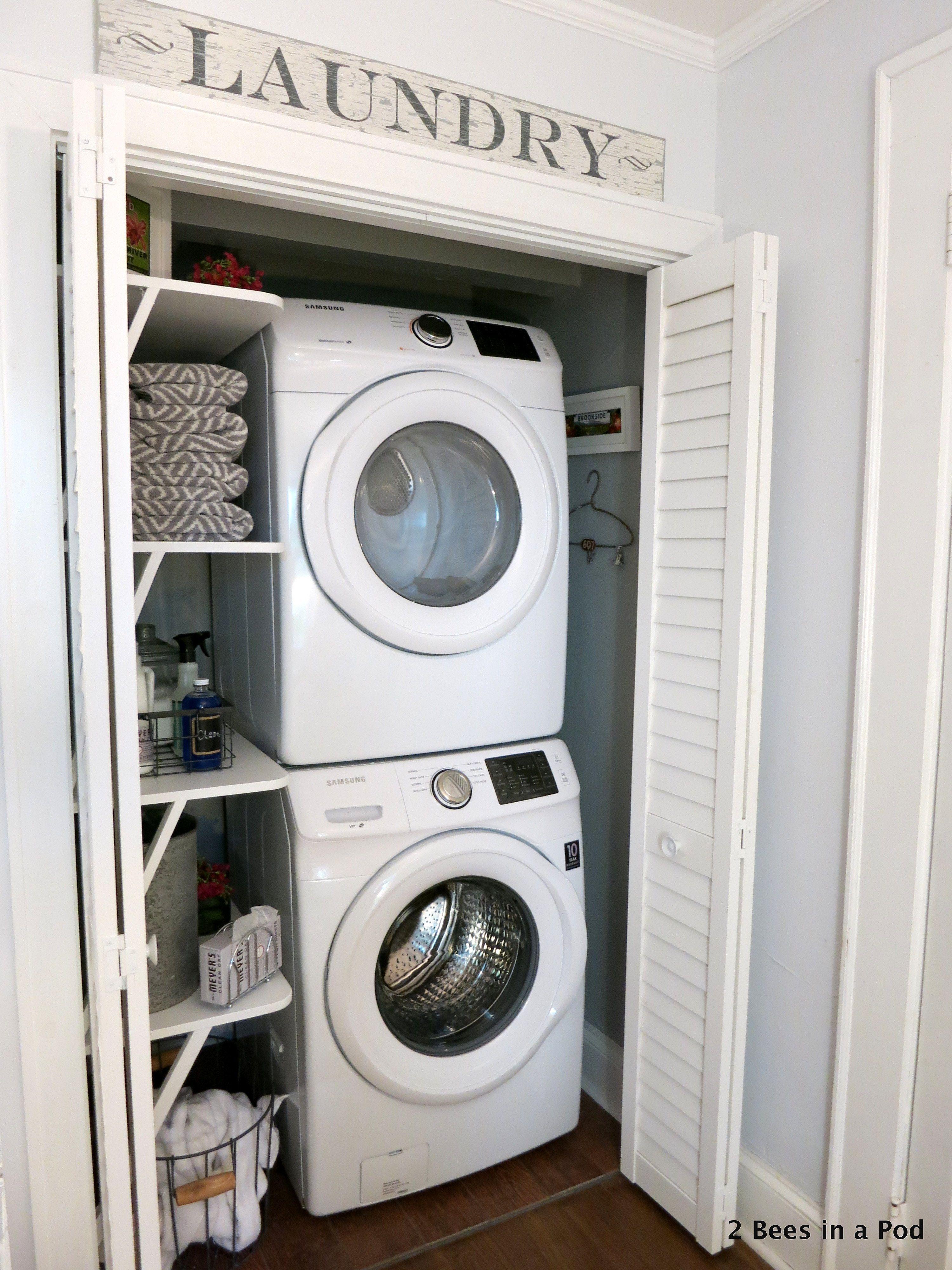 laundry | laundry room | laundry closet | laundry closet ideas | laundry room ideas | home design | design