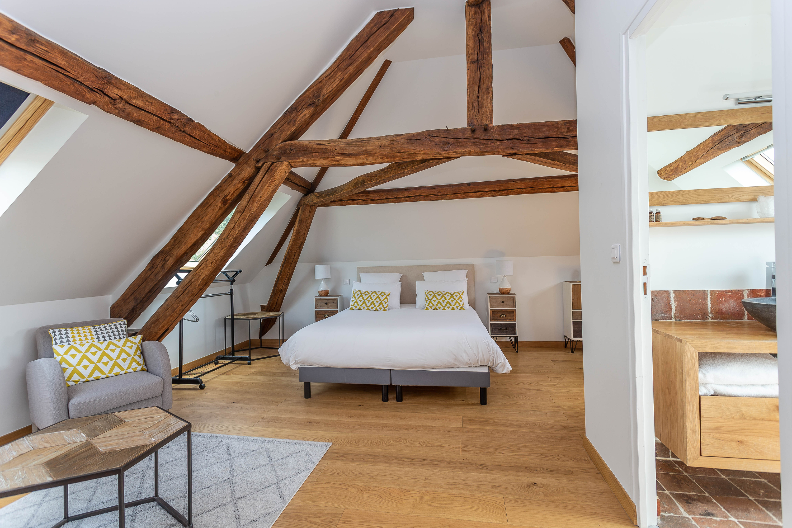 attic | attic space | home design | living space | home office | library | bedroom