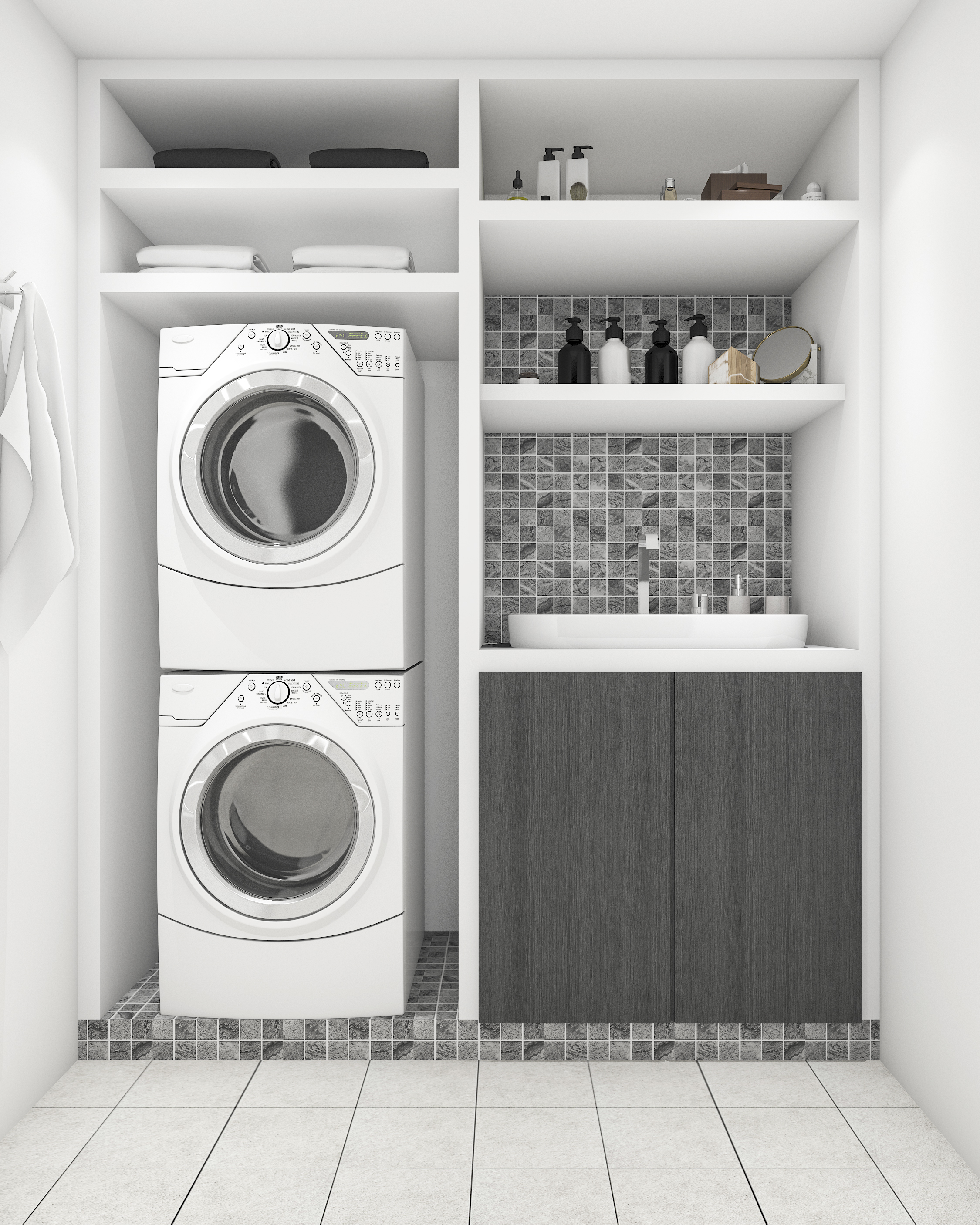 laundry | laundry room | laundry closet | laundry closet ideas | laundry room ideas | home design | design