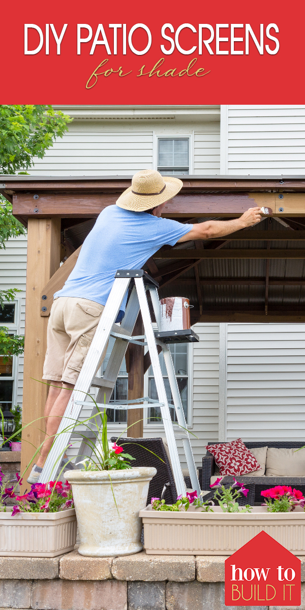diy | diy patio | patio | patio screens | diy patio screens | patio screens for shade | diy patio screens for shade | screens for shade | shade | patio shade