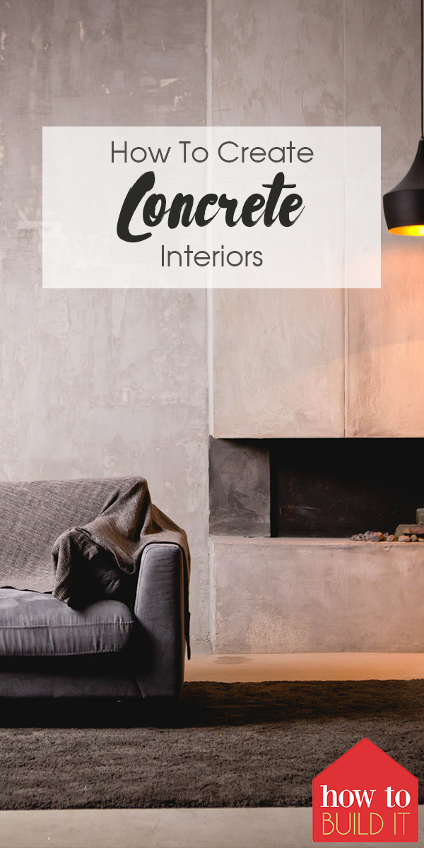 concrete interiors | home design | home decor | design | decor | concrete decor | concrete designs