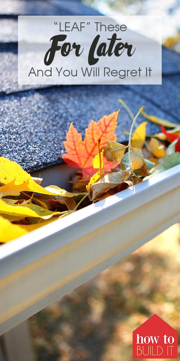 leaf | leaf clean up | fall clean up | home maintenance | fall home maintenance | leaves