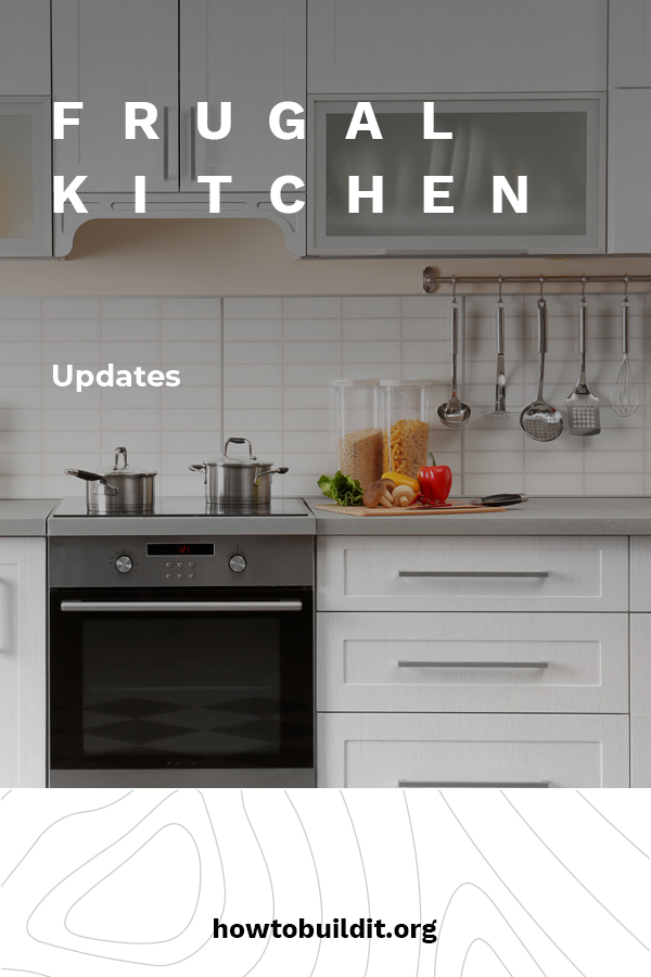 So it's time to update your kitchen. This can be a fun time, but one that is also super expensive. If you don't have that type of money, or just enjoy being frugal, we have some great options for you. Take a look at all the things you can do to your kitchen to update it that won't break the bank. Keep reading for more frugal kitchen update ideas. #frugalkitchenupdates #homeupgradesonabudget