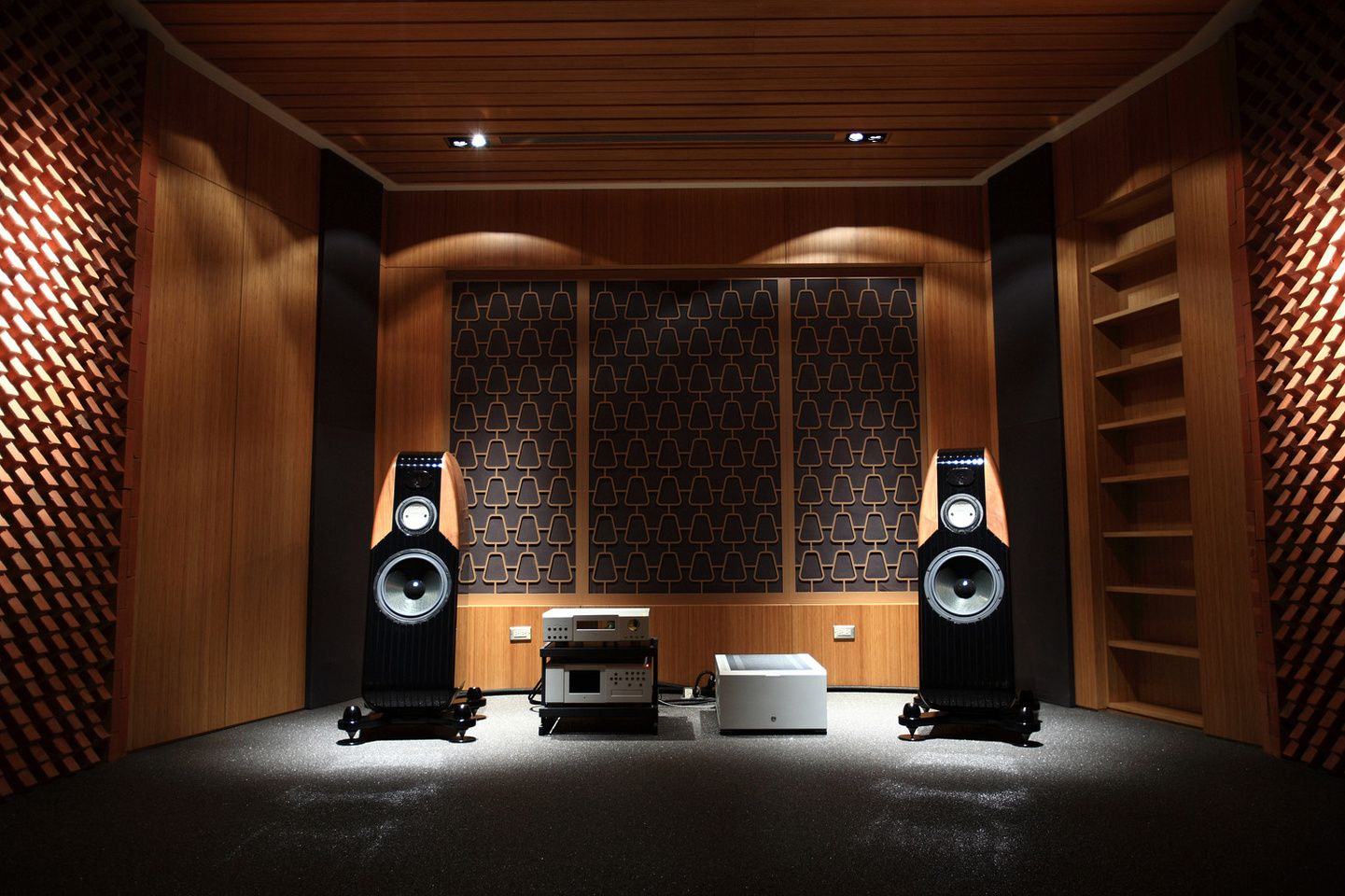 If you've ever considered having an audio room in your home, you should do it! These audio room ideas are amazing. See all the different ideas there are for audio rooms.