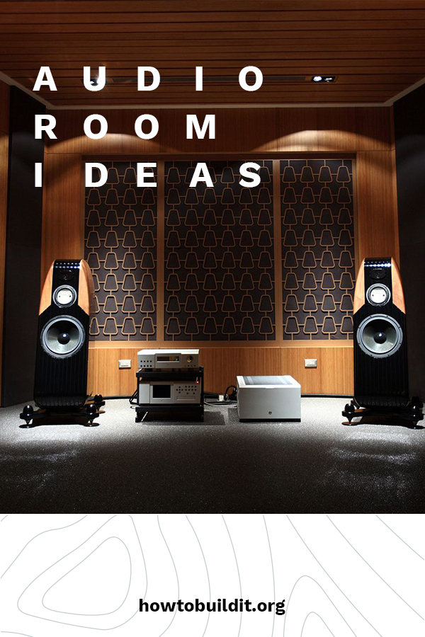 If you like music, and you like it loud with great quality, an audio room is the way to go. Your own space to chill while listening to your favorite tunes. Leave everything behind in one of these rooms. They are to music lovers what a man cave is to a sports fanatic. Keep reading for audio room ideas from equipment to decor and more. Turn up the volume!! #audioroomdesign #audioroomideas