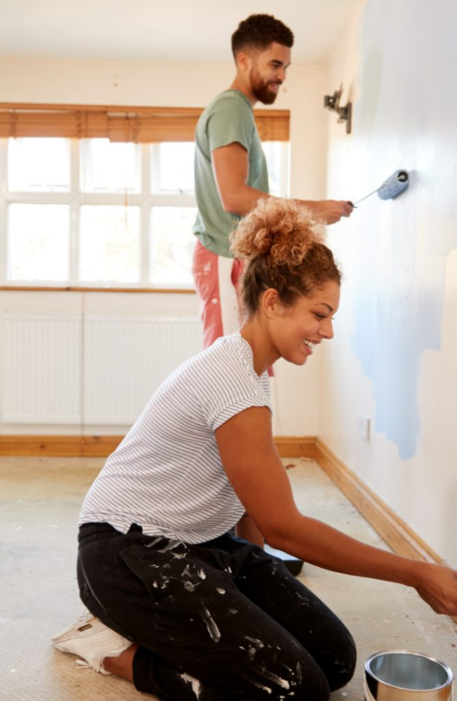 A fresh coat of paint is one of the easiest ways to liven up even the ugliest of living spaces! But for some, the thought of painting an entire room, wall, or house might sound a little intimidating. I get it! Painting can be scary. But it doesn't need to be. Check out my list of the best painting tips around. It will make your project so much easier!