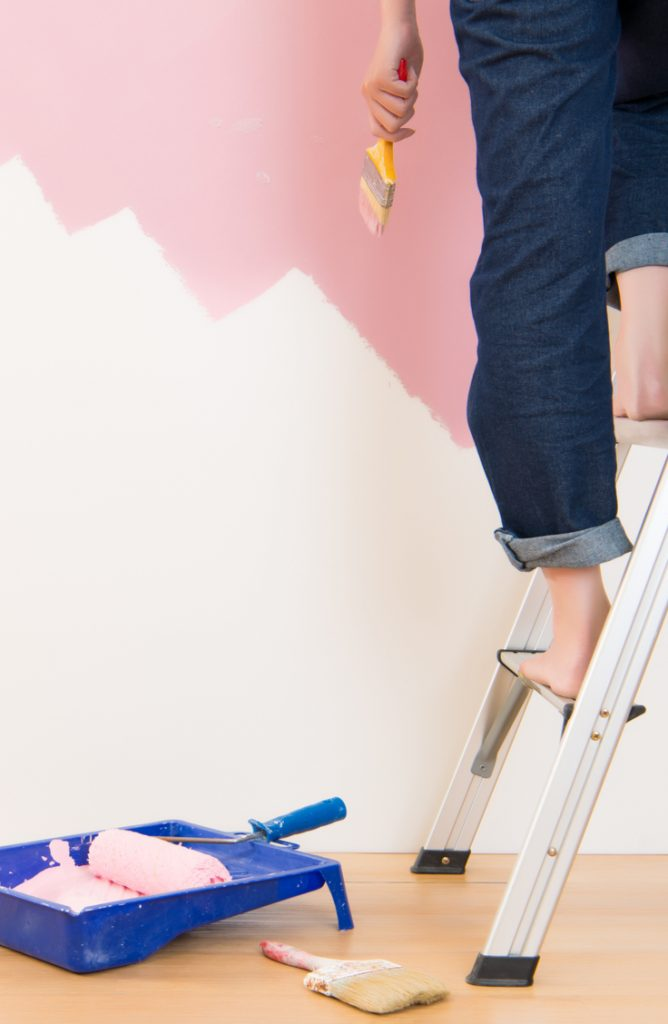 A fresh coat of paint is one of the easiest ways to liven up even the ugliest of living spaces! But for some, the thought of painting an entire room, wall, or house might sound a little intimidating. I get it! Painting can be scary. But it doesn't need to be. Check out my list of the best painting tips around.