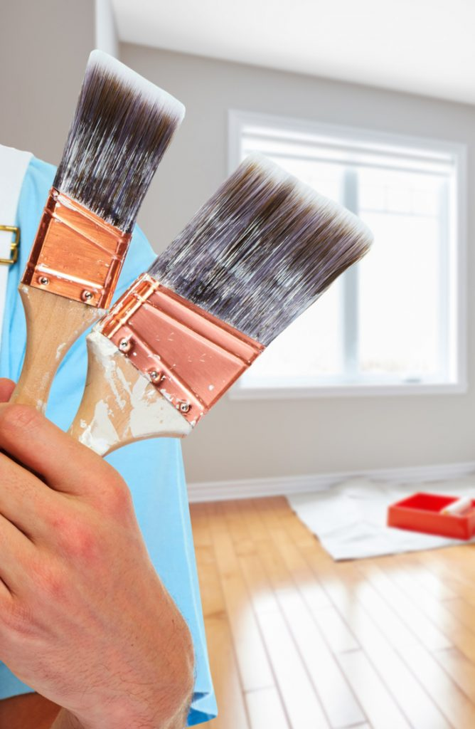 A fresh coat of paint is one of the easiest ways to liven up even the ugliest of living spaces! But for some, the thought of painting an entire room, wall, or house might sound a little intimidating. I get it! Painting can be scary. But it doesn't need to be. Check out my list of the best painting tips around. You'll be so glad you know these tips for your next project!