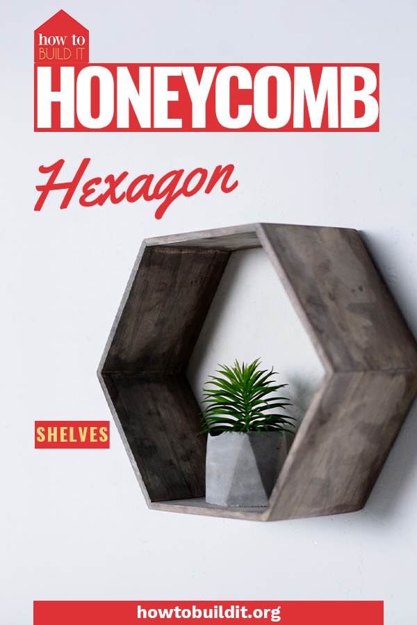 One of the hottest home decor trends this year is hexagon honeycomb shelves! These adorable shelves are incredibly easy to make and require virtually zero DIY experience. Use this tutorial to help you today! #diyprojects #projects #howtobuilditblog