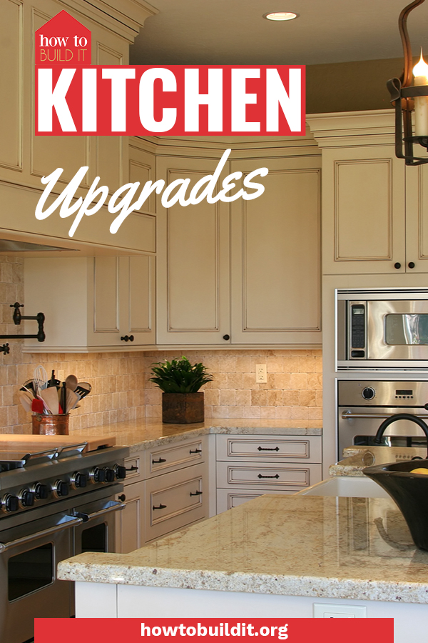 Dying to upgrade your kitchen but don't have the money? No worries, these incredible kitchen upgrades cost practically nothing so you can upgrade your home easily. Guess what? You can even remodel your kitchen for less than $160. #howtobuilditblog #kitchenupgrades #diy