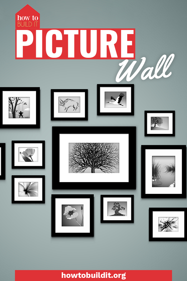 Liven up your home decor with a DIY picture wall! These tips and tricks will help you create one in no time in your own home. #picturewall #homedecor #howtobuilditblog