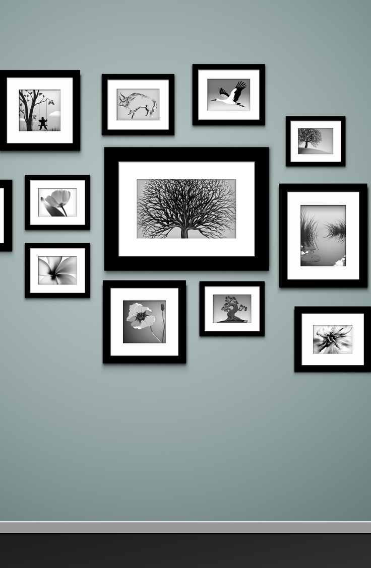 One of my favorite parts of my house is our hanging picture wall. There are tons of pictures dedicated to this one wall and we love looking back on our memories throughout the years. Use this tutorial to make your own picture wall.