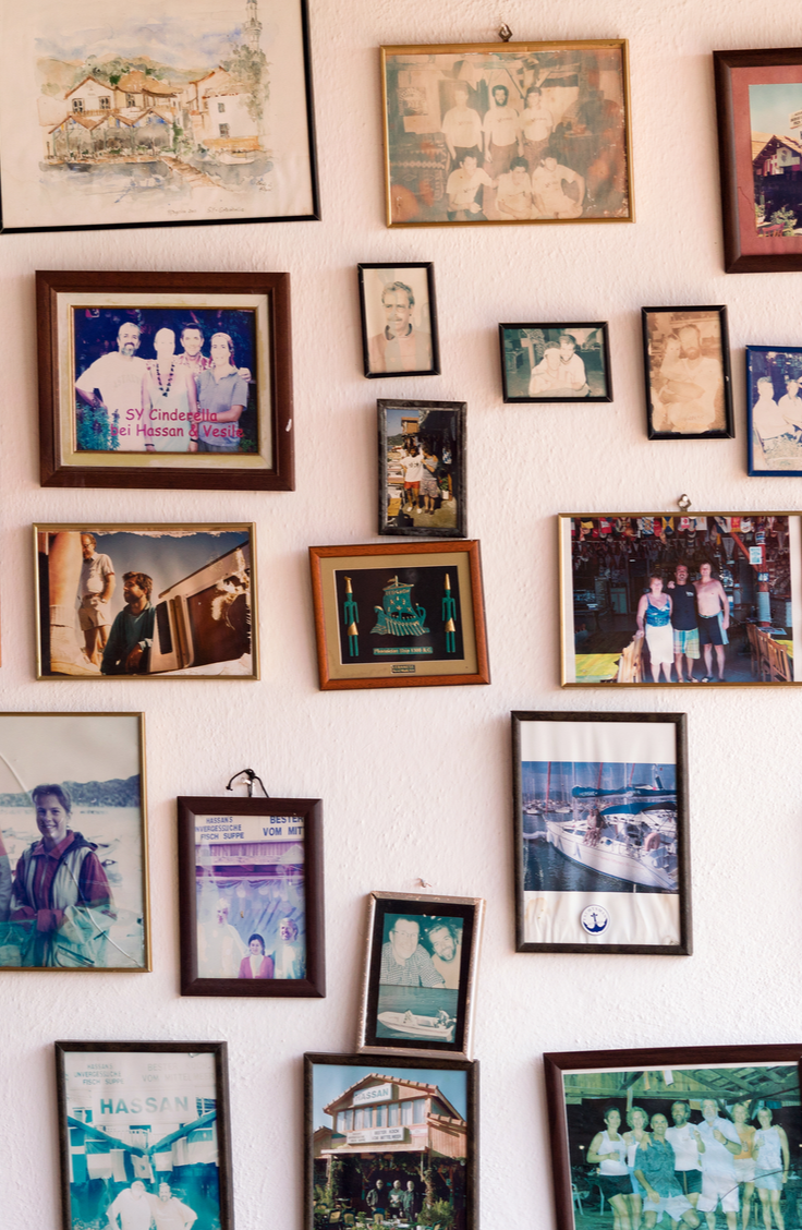 One of my favorite parts of my house is our hanging picture wall. There are tons of pictures dedicated to this one wall and we love looking back on our memories throughout the years. Use this tutorial to make your own picture wall. You will love the way it turns out!