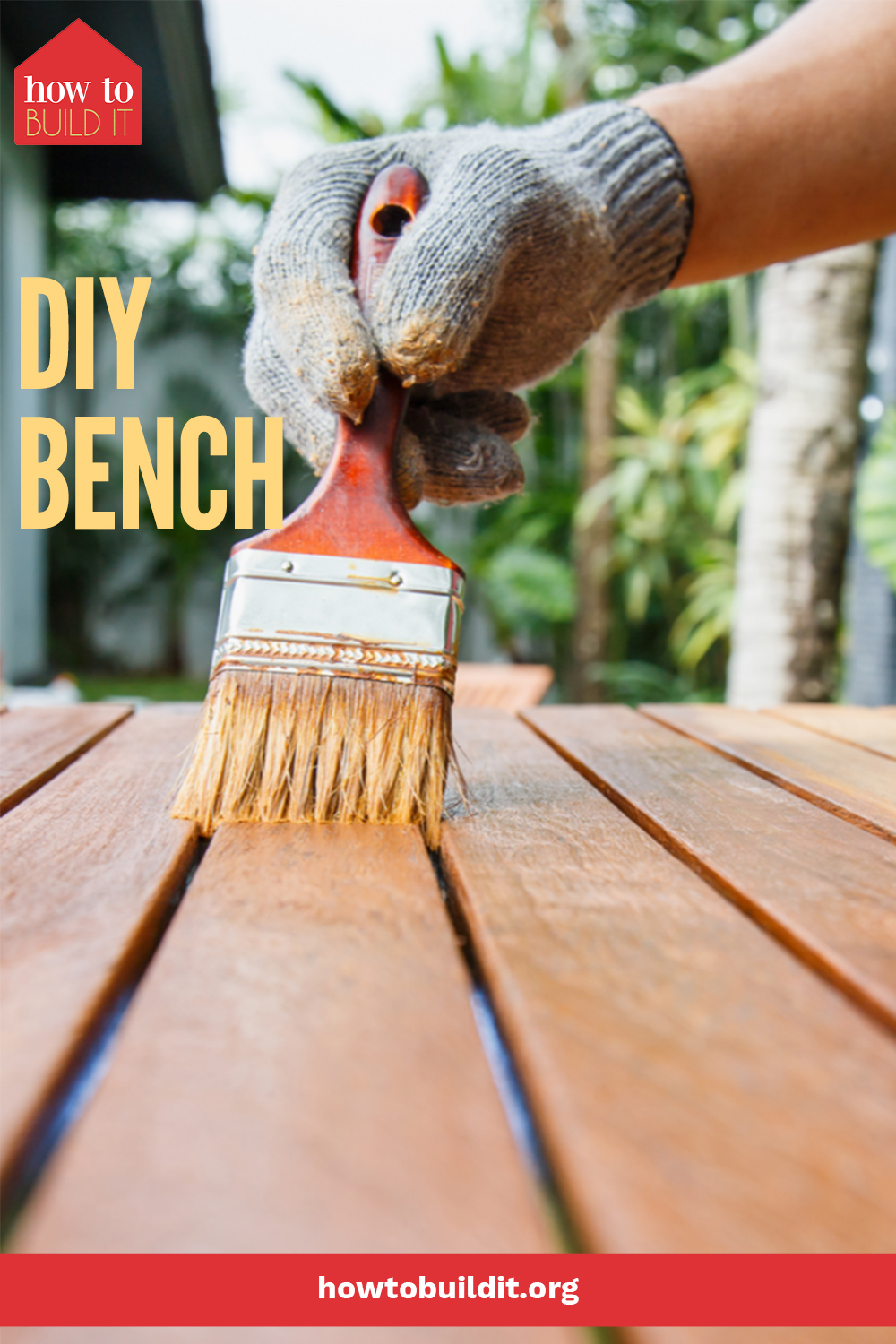 Make your entry way or porch look incredible with this easy tutorial for a DIY bench inspired by an Ana White tutorial. This beauty costs less than $100 to make and even less if you have a scrap pile. Check it out today! #furnitureprojects #diy #howtobuilditblog
