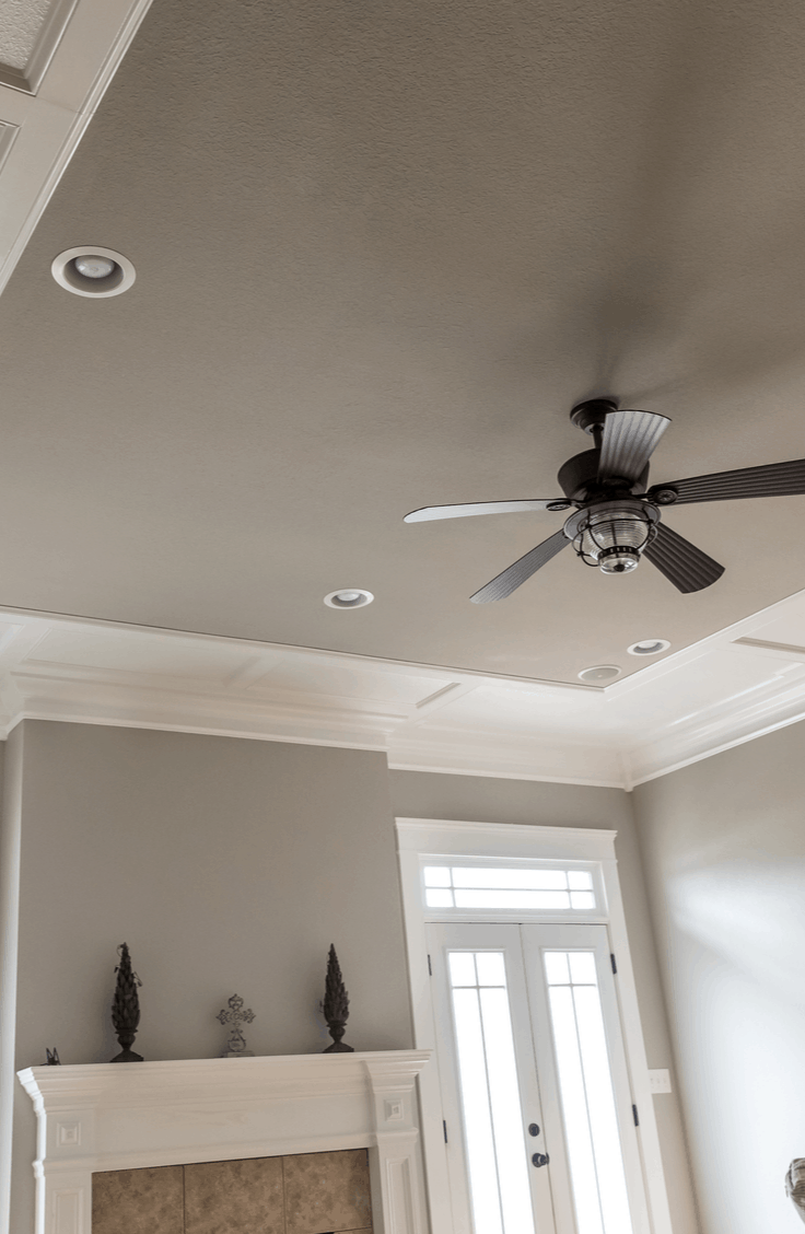 Do you get sick of looking at white ceilings? While lightly painted ceilings do wonders at opening up a space, check out this year's hottest trend to learn how to cozy your space up instead. Try this idea for painted ceilings today!