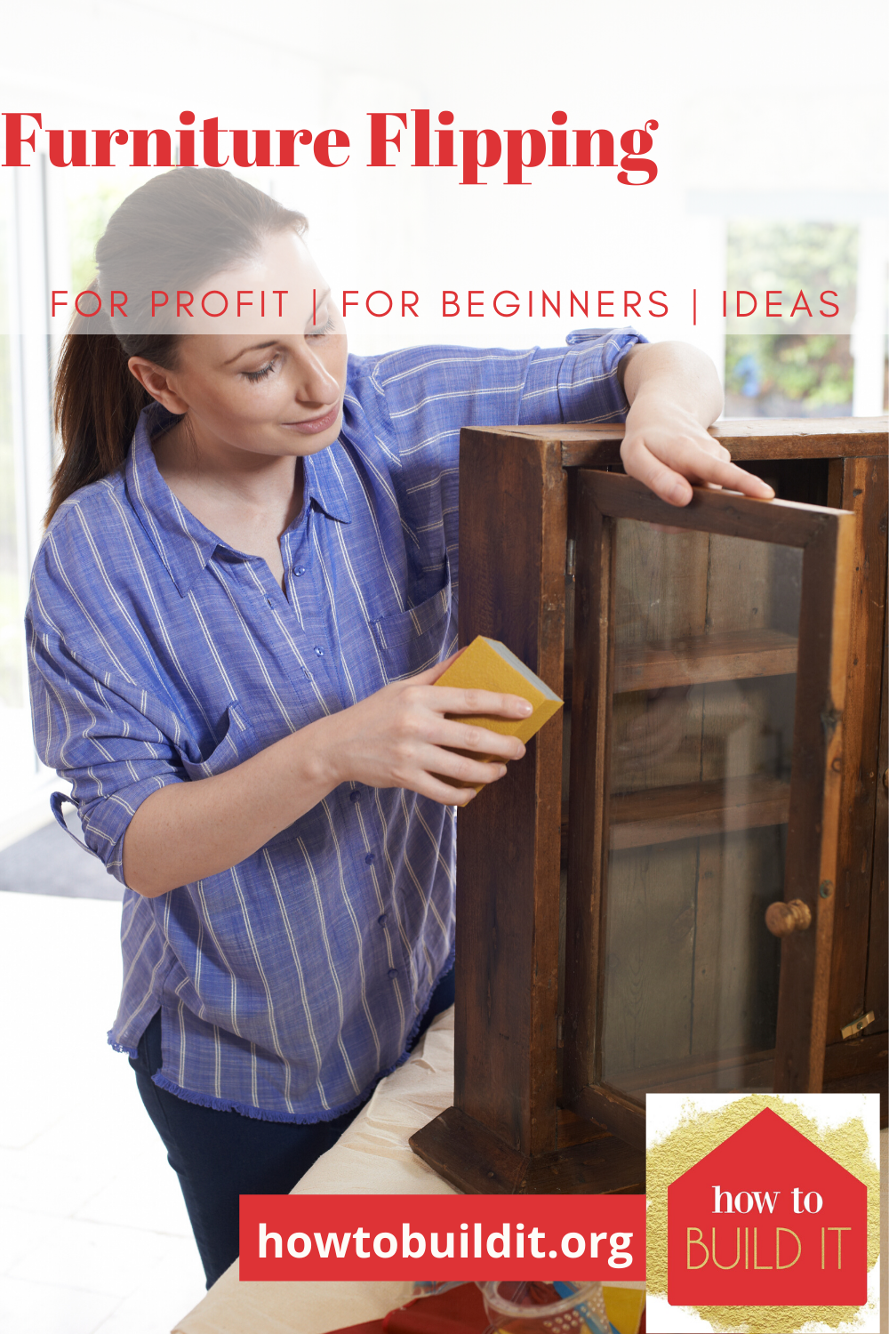 Ever thought of flipping furniture for profit? It's not that hard and can be a great side job for extra cash. Keep reading to learn more and start making money today. #flippingfurniture #howtoflipfurniture #howtobuilditblog