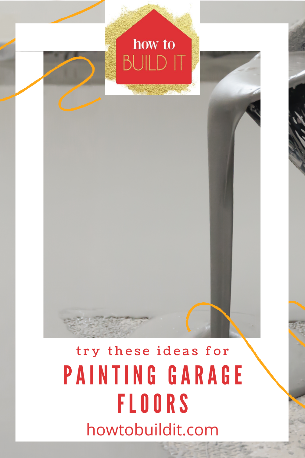 Interested in painting your own garage floor? Use these tips and tricks! These tips and tricks are perfect for painting garage floors. #garagefloors #tipsandtricks #howtobuilditblog
