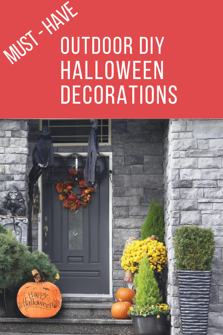 Halloween is one of my favorite holidays. I must admit, I go all out inside and out. I can't help it. Let me share with you some awesome DIY Halloween decorations that will impress and save you money. Be the cool house on the street where the kids all flock when you have these in your yard and house. Happy Halloween! #halloweeendecorations #halloweencrafts #DIYHalloweendecorations #howtobuilditblog