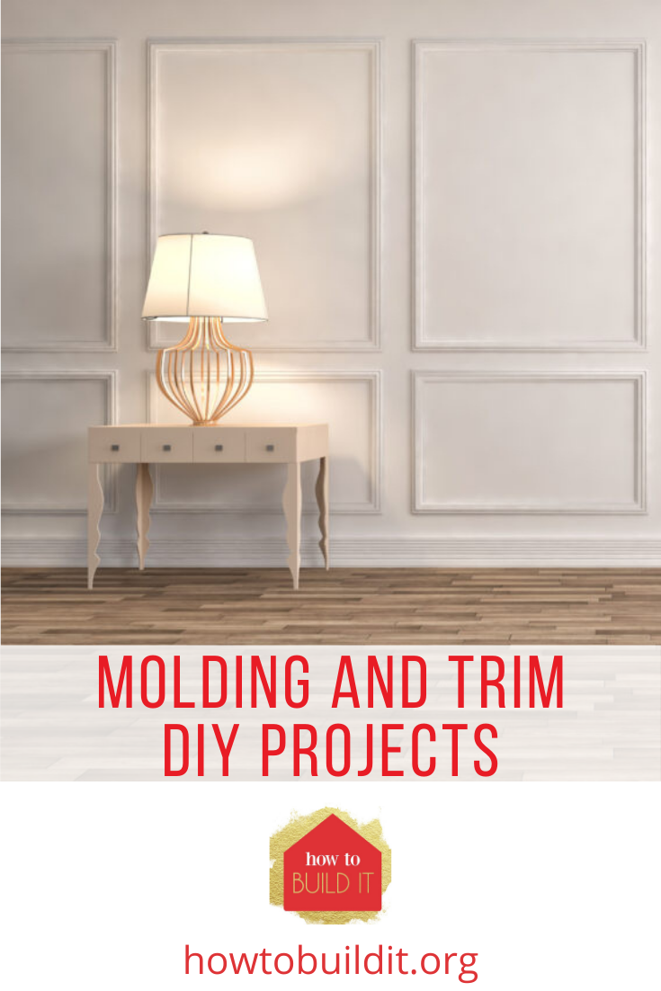 Howtobuildit.org has tons of DIY projects for do-it-yourselfers of all skill levels. Find creative ways to add more flair to your home. Molding and trim are an underrated way to freshen up your space. Check out these refreshing projects you can try now!