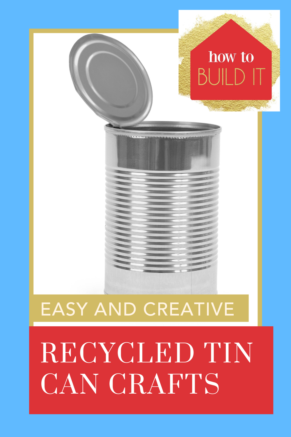 Howtobuildit.org has all the best DIY and home improvement projects for every handyman! Find simple ways to spruce up your home. Check out these recycled tin can crafts to get started now!