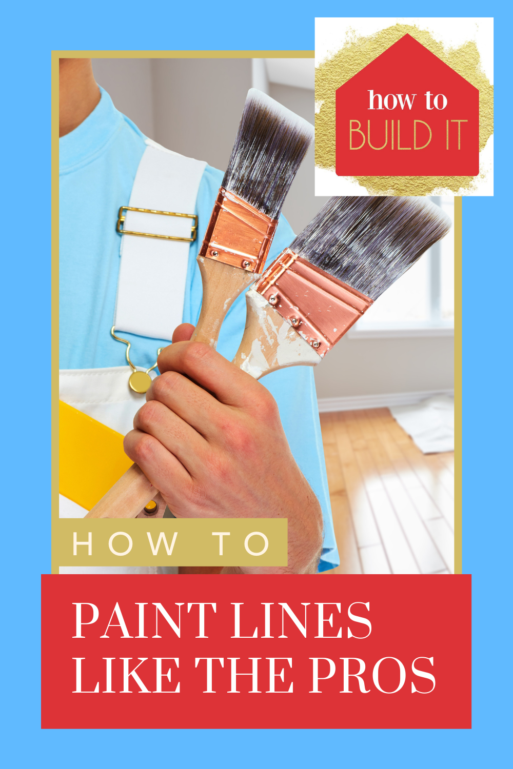 Howtobuildit.org has loads of DIY and home improvement ideas anyone can do! The quickest way to spruce up your home is with a fresh paint job! Find out how you can get a clean line on your next painting project now!