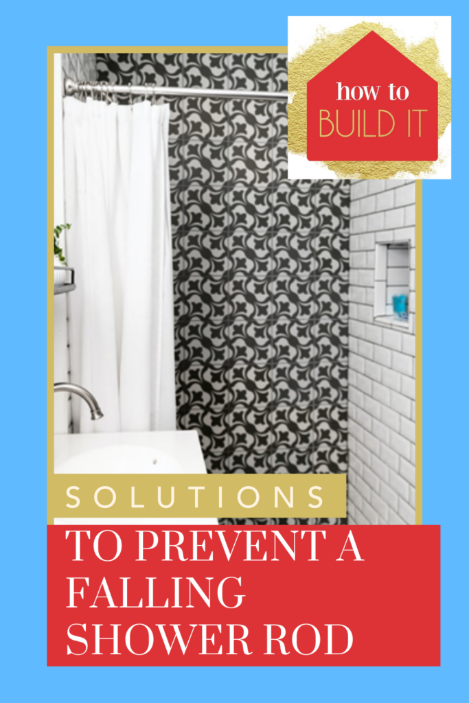 Howtobuildit.com will make you into a certified handyman! Learn how to fix any issue in your home--big or small. Find out creative ways you can stop your shower curtain from falling down ever again!