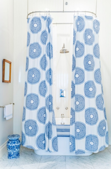 Prevent your shower curtain rod from falling