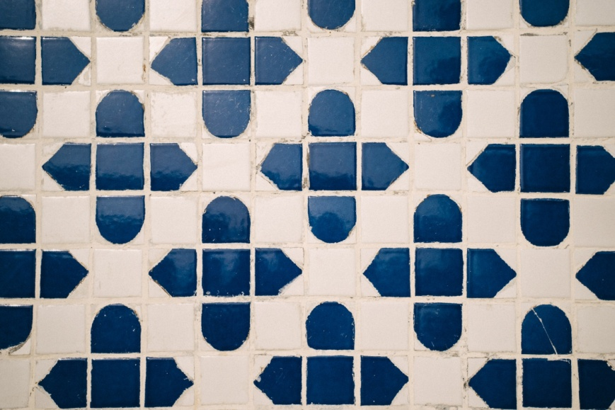 Grout painting your bathroom tiles