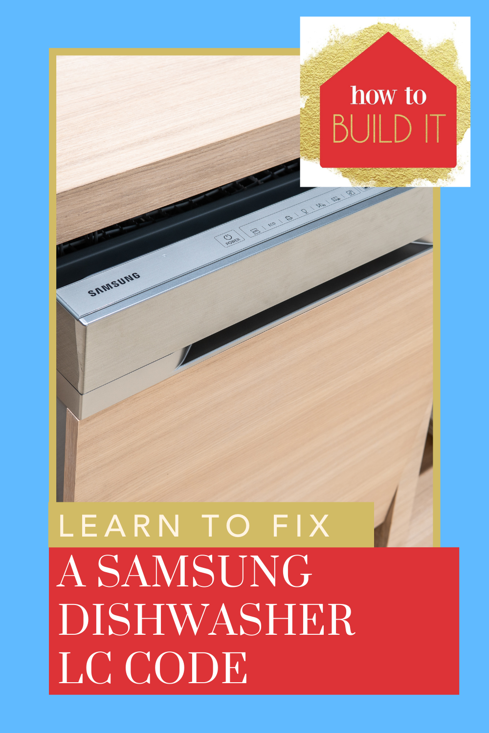 Howtobuildit.org has all of the best in home improvement and maintenance. Keep your home appliances in check all of the time. Find out now how you can fix your Samsung dishwasher LC code after moisture detection.