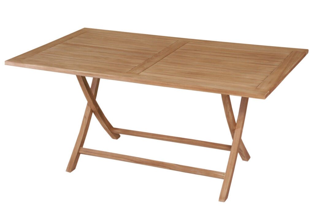 Economical folding table