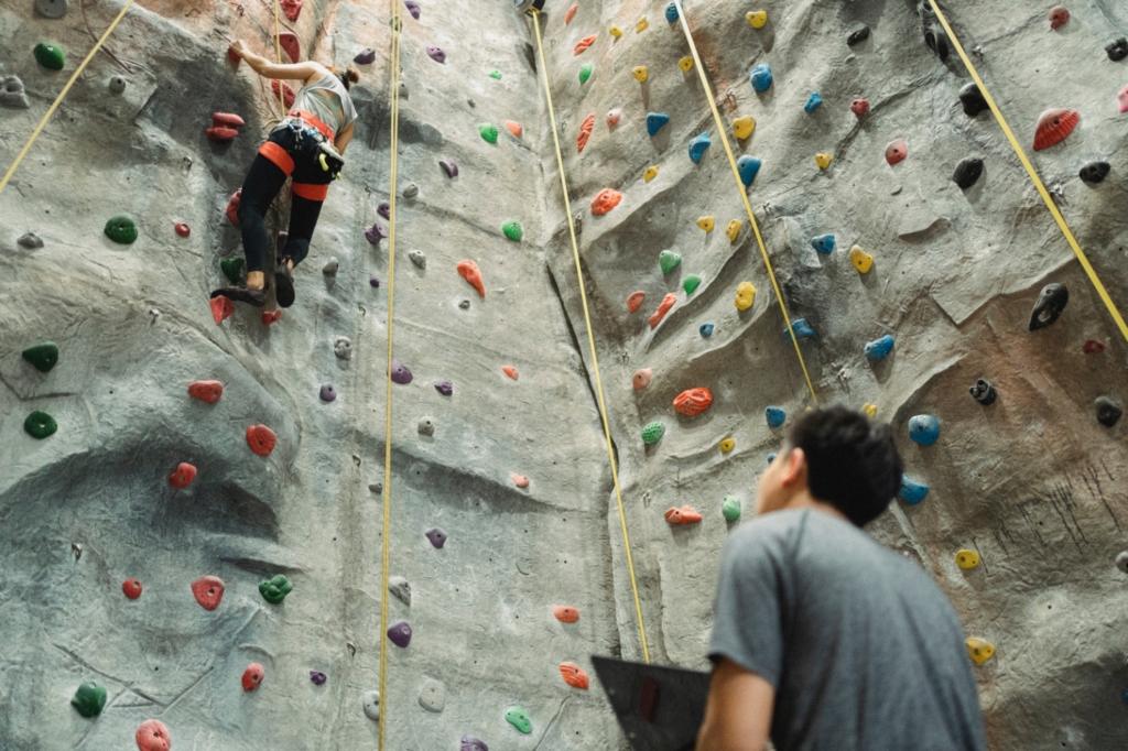 Rock walls for kids