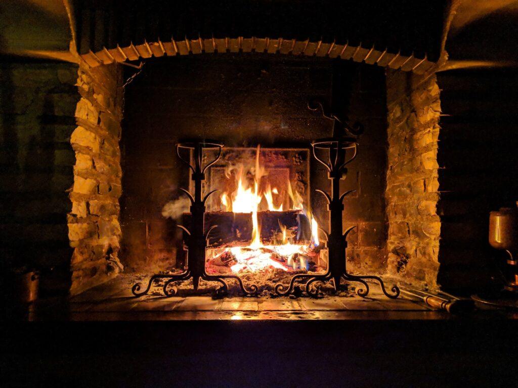 fireplace maintenance in winters