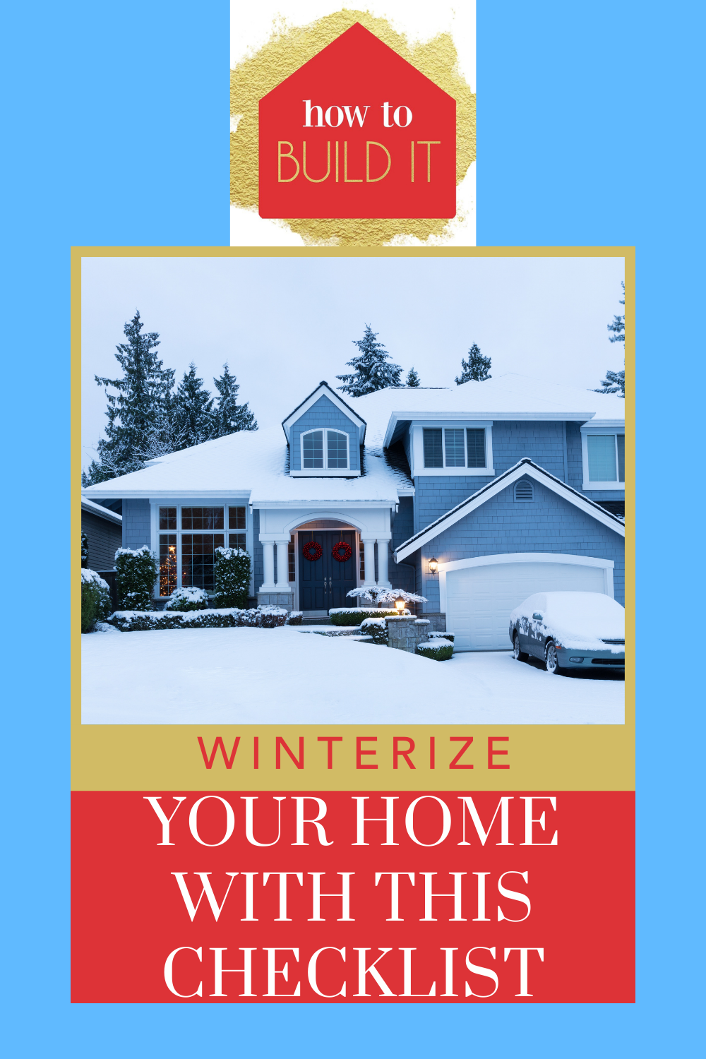 Howtobuildit.com will make you into a certified handyman! Learn how to fix any issue in your home--big or small. Find out easy ways you can get your home safe and ready for winter!